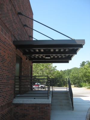 Overhead Supported Canopy Entrance Canopies Mitchell