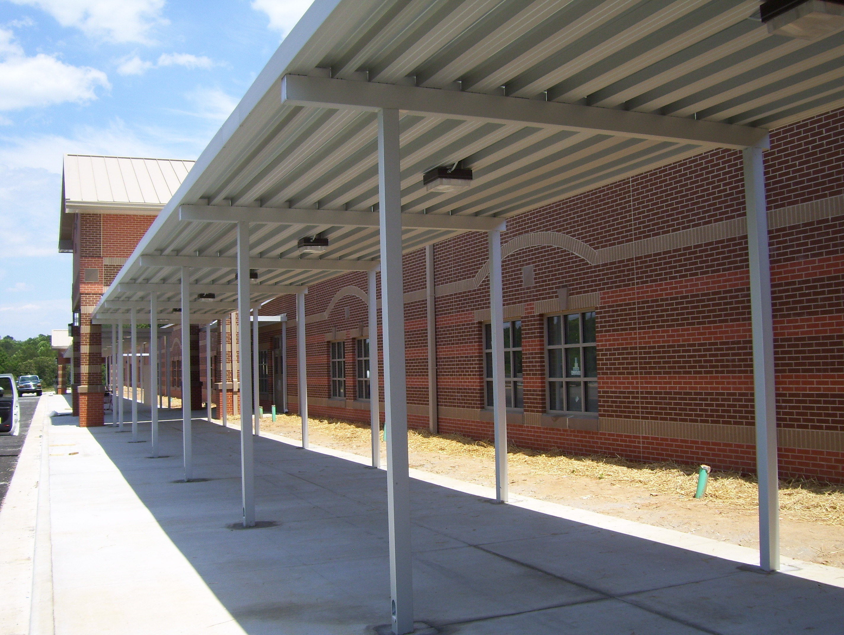 School Canopies Covered Walkways For Schools Mitchell