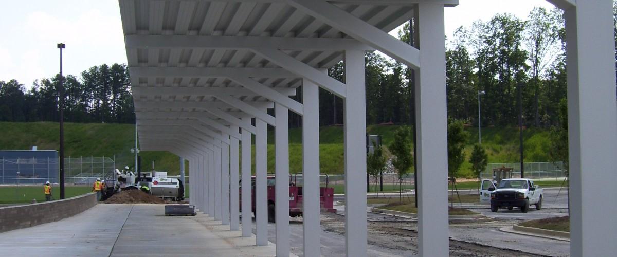 Aluminum Walkway for K-12 School