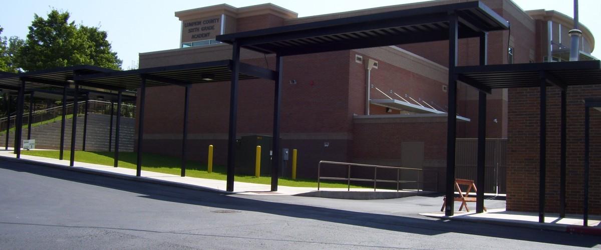 Customized K-12 school canopies