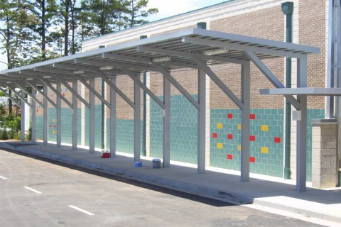 Mitchell Metals: Aluminum / Metal Canopies & Walkway Covers