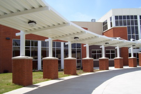 Extruded Aluminum Walkway Covers