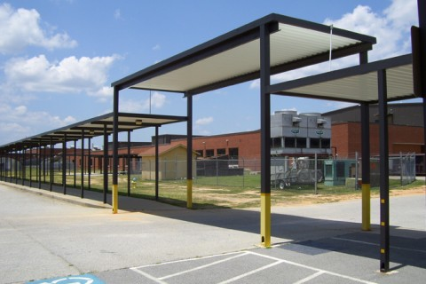 Customized Canopies for Schools