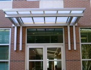 Mitchell Metals aluminum awnings