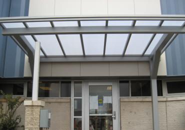 decorative aluminum canopy