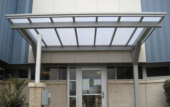 Decorative Canopy Features For Metal Canopies Mitchell